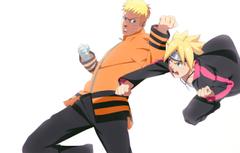Wallpapers father Naruto son Uzumaki Naruto Boruto Boruto Uzumaki image for desktop section