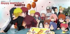 Birthday Naruto Wallpapers on WallpaperDogwallpaper dog