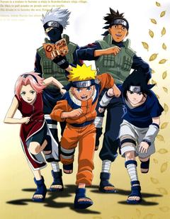Naruto Sasuke Kakashi Iruka