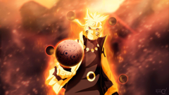 Naruto 9 Tailed Beast Mode Wallpapers HD