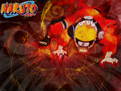 Naruto Shippuden Nine Tailed Fox Mode wallpapertip