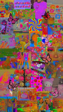 Indie kid kid core aesthetic wallpapers