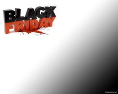 Black Friday Backgrounds For PowerPoint