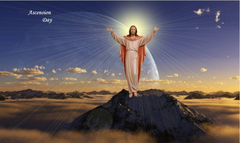 Happy Ascension Day of Jesus Christ Greetings Text SMS Wishes