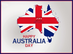 Happy Australia Day Quotes Messages with Greeting Image