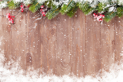 Basic Methods for Christmas Backgrounds Photography