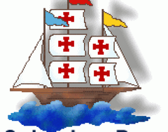 Image For Happy Columbus Day Clip Art