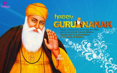 Happy Guru Nanak Jayanti Wishes Wallpapers