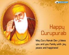 Happy Guru Nanak Dev ji Gurpurab Wallpapers Wishes Guru Nanak
