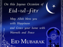 Advance eid ul fitr cards sms greetings messages quotes image