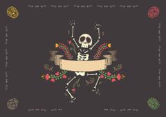 Imágenes de Día De Muertos para sublimar