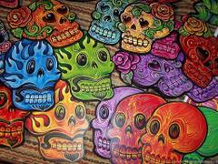 Wallpapers Skull Vetor Skulls Dead Day Dia De Los Muertos Of The