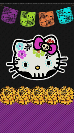 Hello Kitty cell phone wallpaper lock screen pic dia de los