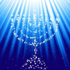 HANUKKAH jewish festival holiday candelabrum candle menorah