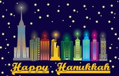 Hanukkah Hannukah Channukah Chanukah Jewish Holiday Festival of