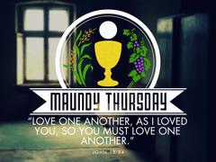 Maunday Thursday bible verses