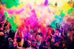 Happy Holi Image And Wallpapers