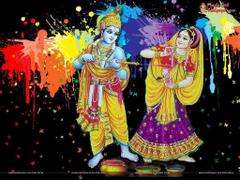 Radha Krishna Holi Wallpapers Play Holi Image Photos