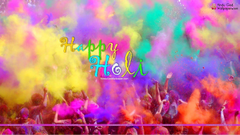 Colourful Holi Wallpapers HD for Desktop