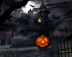 Halloween Scary House Halloween Wallpaper hd phone wallpapers
