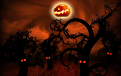 Sizzling Halloween Wallpapers