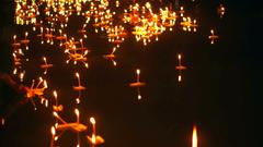 Loi Krathong Festival in Chiangmai Thailand Thousand of floating