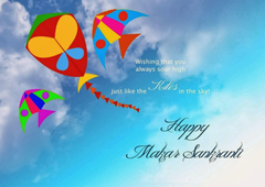Happy Makar Sankranti Wallpapers and Wishes Messages