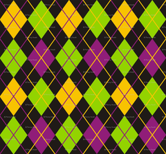 Mardi Gras Fat Tuesday Black Argyle wallpapers