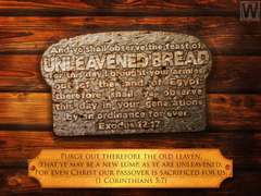 Unleavened Bread 1 Corinthians 5 7