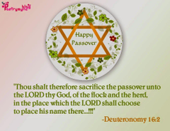 Passover SMS Wishes Quotes and Messages