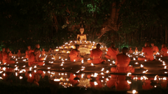 Magha puja day is the important incidents Buddhist day Buddhist