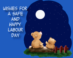Beautiful Labor Day Wishes Teddy Wallpapers