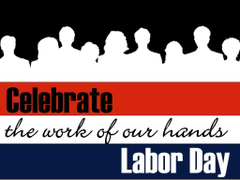 Labor day Happy labour day and Labor