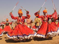 Dancing Desert Festival Jaisalmer Rajasthan India