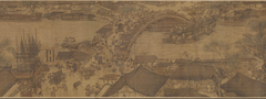 Lige Guo Along the River During the Qingming Festival