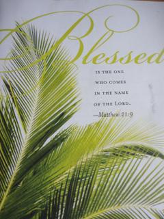Happy Palm Sunday Christianity