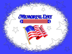 Memorial Day PowerPoint Backgrounds Templates and