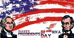 Happy Presidents Day of America Day