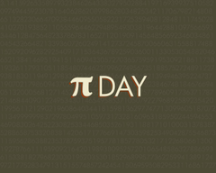 Typography Wallpaper Pi Day Matters of Grey