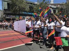 Apple Celebrates Pride in San Francisco Parade