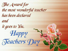 HD Greeting Cards of World Teachers Day For Wishing Your Best