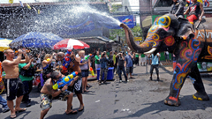 Wallpapers Songkran Thai New Year Thailand Water Festival