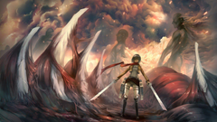 Mikasa Ackerman HD Wallpapers