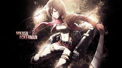 Mikasa Ackerman Computer Wallpapers Desktop Backgrounds