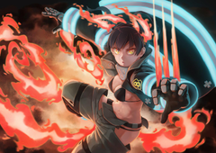 Fire Force Tamaki Kotatsu FanArt by Guosong Chan