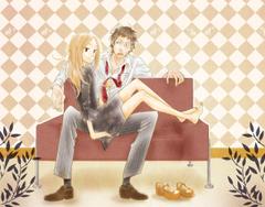 usagi drop kaga rin kawachi daikichi wallpapers and backgrounds