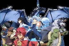 Anime That Time I Got Reincarnated as a Slime Tensei shitara Slime