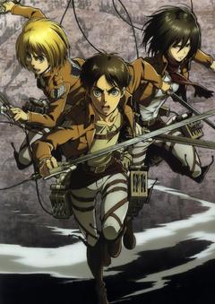 Anime Shingeki no Kyojin Series Armin Arlert Character Eren Yeager