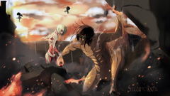 Anime Attack On Titan Eren Yeager Annie Leonhart Wallpapers