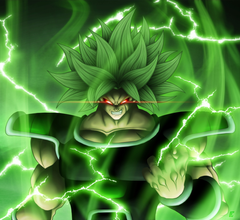 Coolest Broly 4K Backgrounds